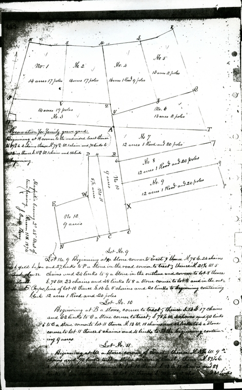 Part of Samuel Birch's Deed