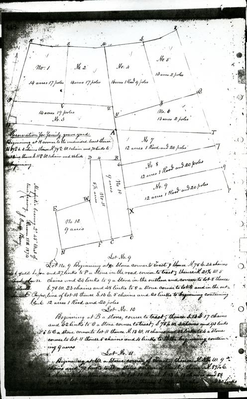 Part of Samuel Birch's Deed
