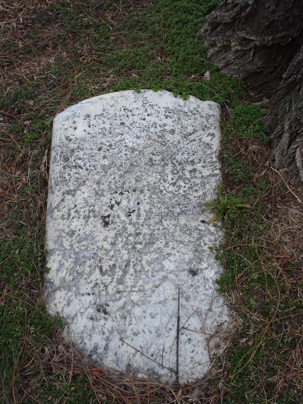Sarah Jane Birch's Head Stone