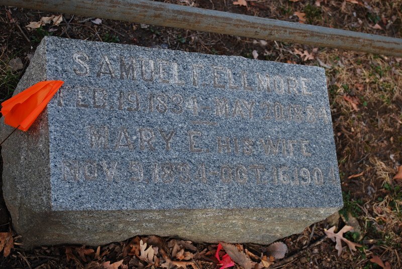 Samuel F. and Mary E. Ellmore
