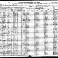 Henry J. O'Bannon 1920 Census