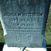 Joshua M. Hutchison Headstone