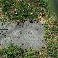 Nelson Podolnick M.D. Headstone