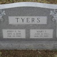John A. Tyers Sr. & Mary E. Tyers