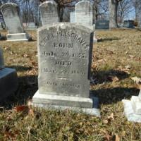 Headstone for Edith Lillian Presgraves