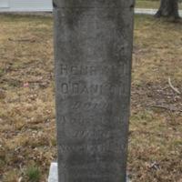 Henry J O'bannon Headstone