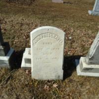 Headstone for Ann Presgraves