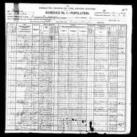 Elbridge Hutchison 1900 Census