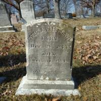 Headstone for Osceola Presgraves