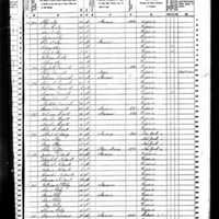 Lewis H. Robey 1850 Census