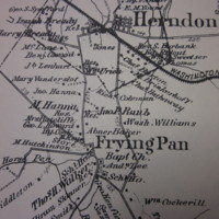 Map of Dranesville- 1878