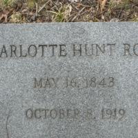 Charlotte Hunt Robey