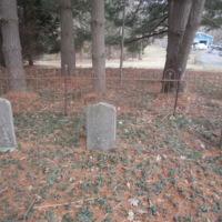 Headstones of Harry T. Compton, Mittie Compton, and George F. Compton