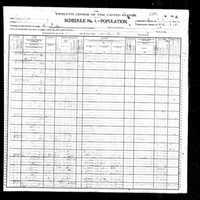 O'Bannon 1900 Census