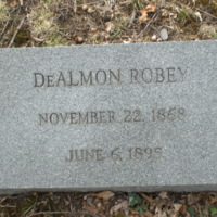 DeAlmon Robey Headstone