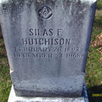 Silas Hutchison Headstone