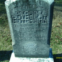 George Cuthbert Hutchison Headstone