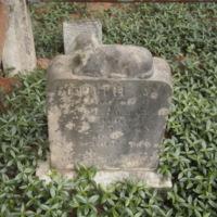 Headstone of Edith A. Compton
