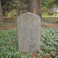 Headstone of Harry T. Compton