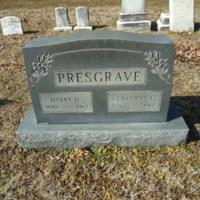 Headstone for Harry Davis Presgrave