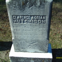 Clarence Adrian Hutchison Headstone