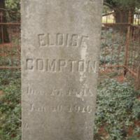 Headstone of Eloise Compton