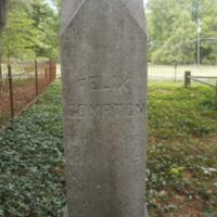 Headstone of Felix Compton